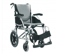 Image of a lightweight wheelchair
